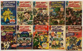 SGT. FURY & HIS HOWLING COMMANDOS LOT #40, 41, 42,