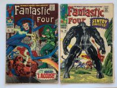 FANTASTIC FOUR LOT #64, 65 (2 in Lot) - (1967 - MA