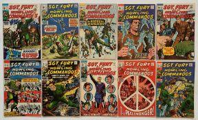 SGT. FURY & HIS HOWLING COMMANDOS LOT #63, 64, 65,