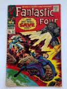 FANTASTIC FOUR #62 - (1967 - MARVEL - Pence Copy -