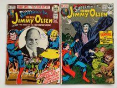 JIMMY OLSEN: SUPERMAN'S PAL LOT #141 & 142 (2 in L