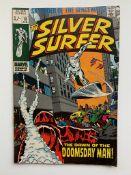 SILVER SURFER #13 (1970 - MARVEL - Pence Copy - G/