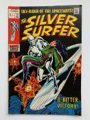 SILVER SURFER #11 (1969 - MARVEL - Pence Copy - G/