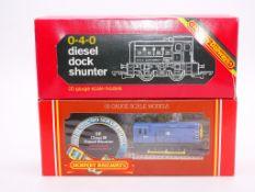 OO GAUGE - A pair of Hornby diesel shunting locomo