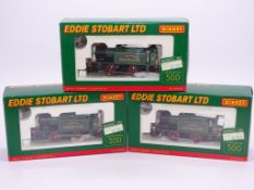 OO GAUGE - A complete set of Hornby 'Eddie Stobart