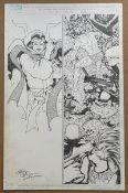 DEFENDERS: INDEFENSIBLE #5 (2006) - ORIGINAL ARTWORK - KEVIN MAGUIRE (Artist) - Page 11 (MARVEL