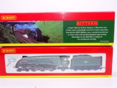 OO GAUGE - A Hornby R2247 Class A4 steam locomotiv