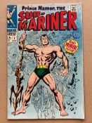 SUB-MARINER #1 (1968 - MARVEL) VG/FN (Cents Copy / Pence Stamp) - Origin of the Sub-Mariner