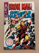 IRON MAN & SUB-MARINER #1 (1968 - MARVEL) VG/FN (Cents Copy / Pence Stamp) - This one-shot