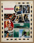 THUNDERBIRDS (1969) - ORIGINAL ARTWORK from TV21 C