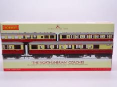 OO GAUGE - A Hornby R4228 'The Northumbrian' tripl