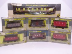 OO GAUGE - A group of Wrenn wagons and an Aries pu