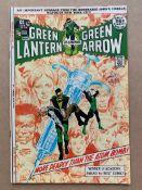 GREEN LANTERN - GREEN ARROW #86 (1971 - DC) VFN+ (