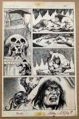 SAVAGE SWORD OF CONAN #59 (1981) - ORIGINAL ARTWORK - MIKE VOSBURG (Artist) - Page 29 (MARVEL