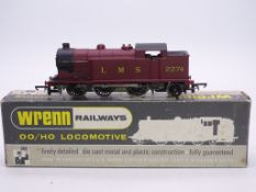 OO GAUGE - A Wrenn W2214 0-6-2 tank locomotive in