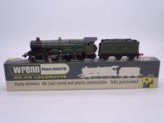 OO GAUGE - A Wrenn W2222 Castle class steam locomo