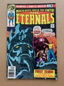 ETERNALS #1 (1976 - MARVEL) VG/FN (Cents Copy) - Origin and first appearances of the Eternals, the