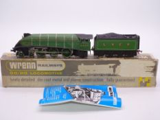 OO GAUGE - A Wrenn W2209A A4 class locomotive in L