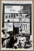 WOLVERINE #124 (1998) - ORIGINAL ARTWORK - DENYS COWAN (Artist) & BILL SIENKIEWICZ (Inker) - Page