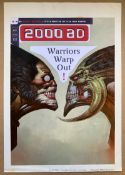 "2000 AD #1037 (1997) - ""Slaine vs Cyth"" ORIGINAL FRONT COVER ARTWORK - SIGNED, DRAWN & PAINTED by"