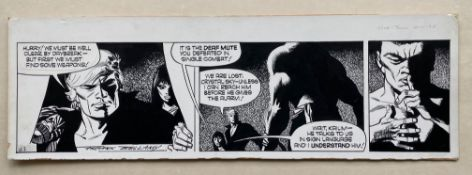 GARTH (1975) - ORIGINAL SIGNED FRANK BELLAMY ARTWORK from Daily Mirror - FRANK BELLAMY (Artist) -