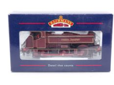 OO Gauge -A Bachmann 31-903 Class 57xx Pannier Tank Steam loco in London Transport Maroon livery -