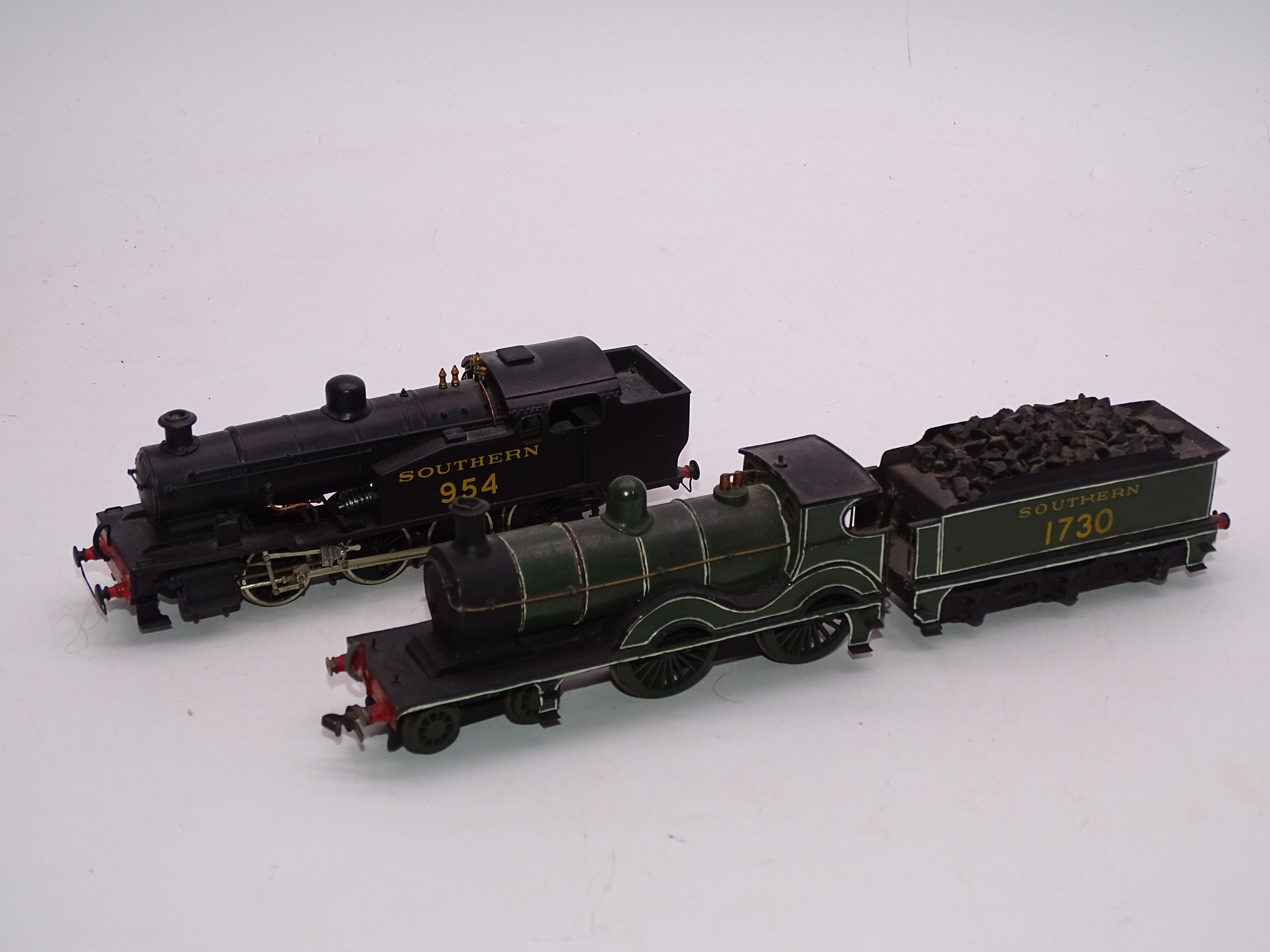 Lot 37 - OO Gauge -A Pair of kit built OO Gauge steam locomotives comprising a Class D numbered 1730 and a