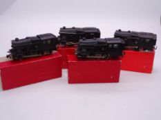 OO Gauge -A group of playworn Trix Twin 0-4-0 Cadet steam tank locomotives in various liveries