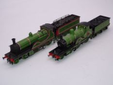 OO Gauge -A Pair of kit built OO Gauge steam locomotives comprising a Class X3 numbered 567 and a