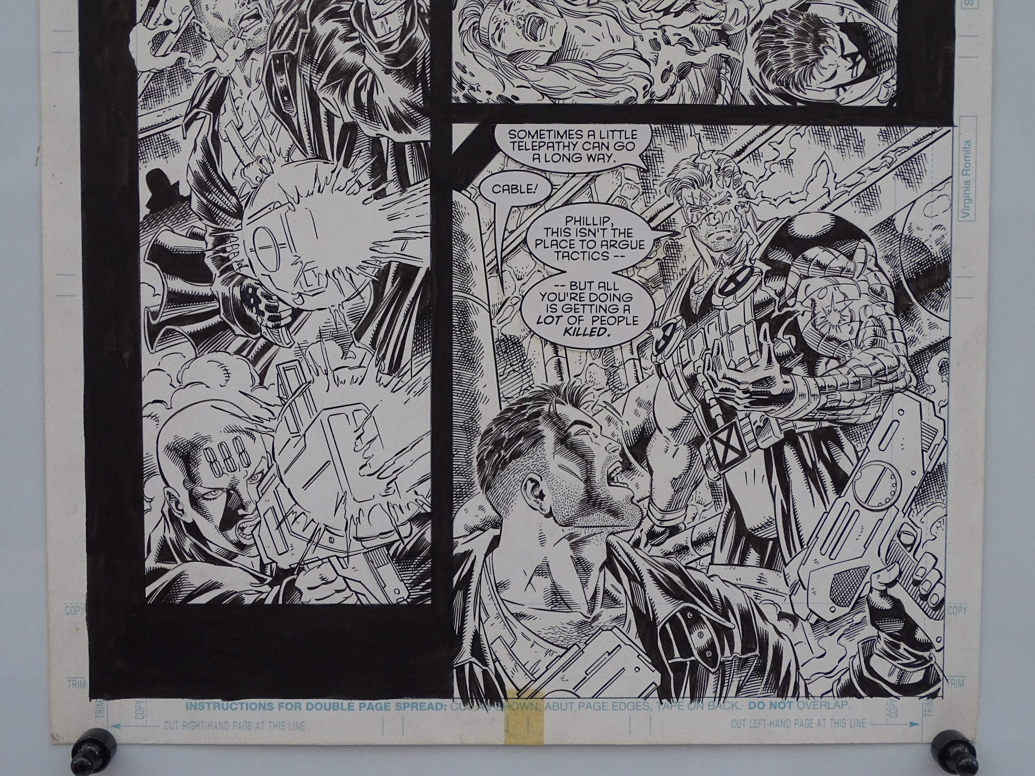 Lot 2307 - CABLE #27 (1993) - ORIGINAL ARTWORK - SIGNED BY IAN CHURCHILL - IAN CHURCHILL (Artist) - Page 4 (