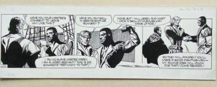 GARTH (1976) - ORIGINAL SIGNED FRANK BELLAMY ARTWORK from Daily Mirror - FRANK BELLAMY (Artist) -