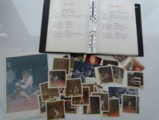 DAVID BOWIE: ZIGGY STARDUST TOUR (1973) - A photo album containing approx. 40 candid photographs