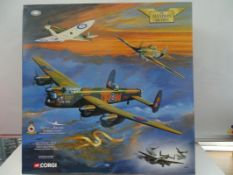 A Corgi Aviation Archive AA32602 1:72 scale Battle of Britain Memorial Flight diecast aircraft