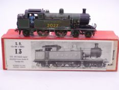 OO Gauge -A Wills Finecast kit built I3 Class steam tank loco in Southern Railway livery -