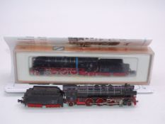 N Gauge - A pair of German Outline Steam locos by Minitrix and Arnold (A/F) - F-G (one boxed, one