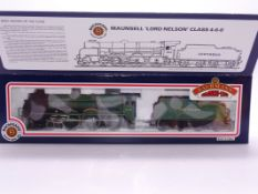 OO Gauge -A Bachmann 31-401 Lord Nelson Class steam loco in Southern Railway livery 'Sir Martin
