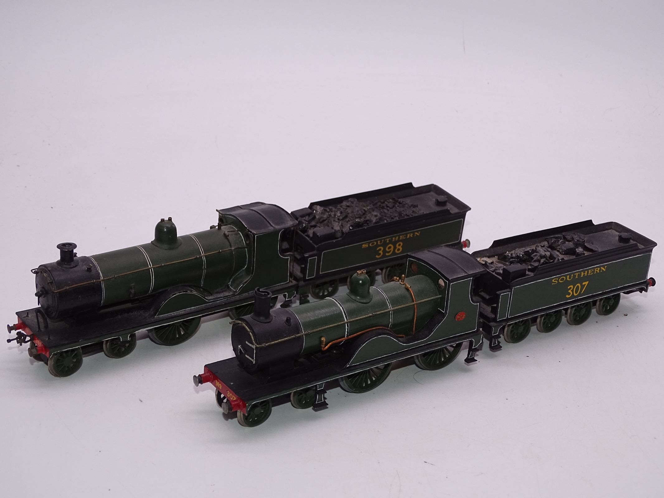 Lot 41 - OO Gauge -A Pair of kit built OO Gauge steam locomotives comprising a Class T9 numbered 307 and a