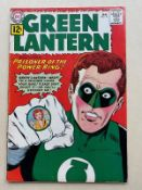 GREEN LANTERN #10 - (1962 - DC) FN/VFN (Cents Copy) - Origin of Green Lantern's oath - Cover and art