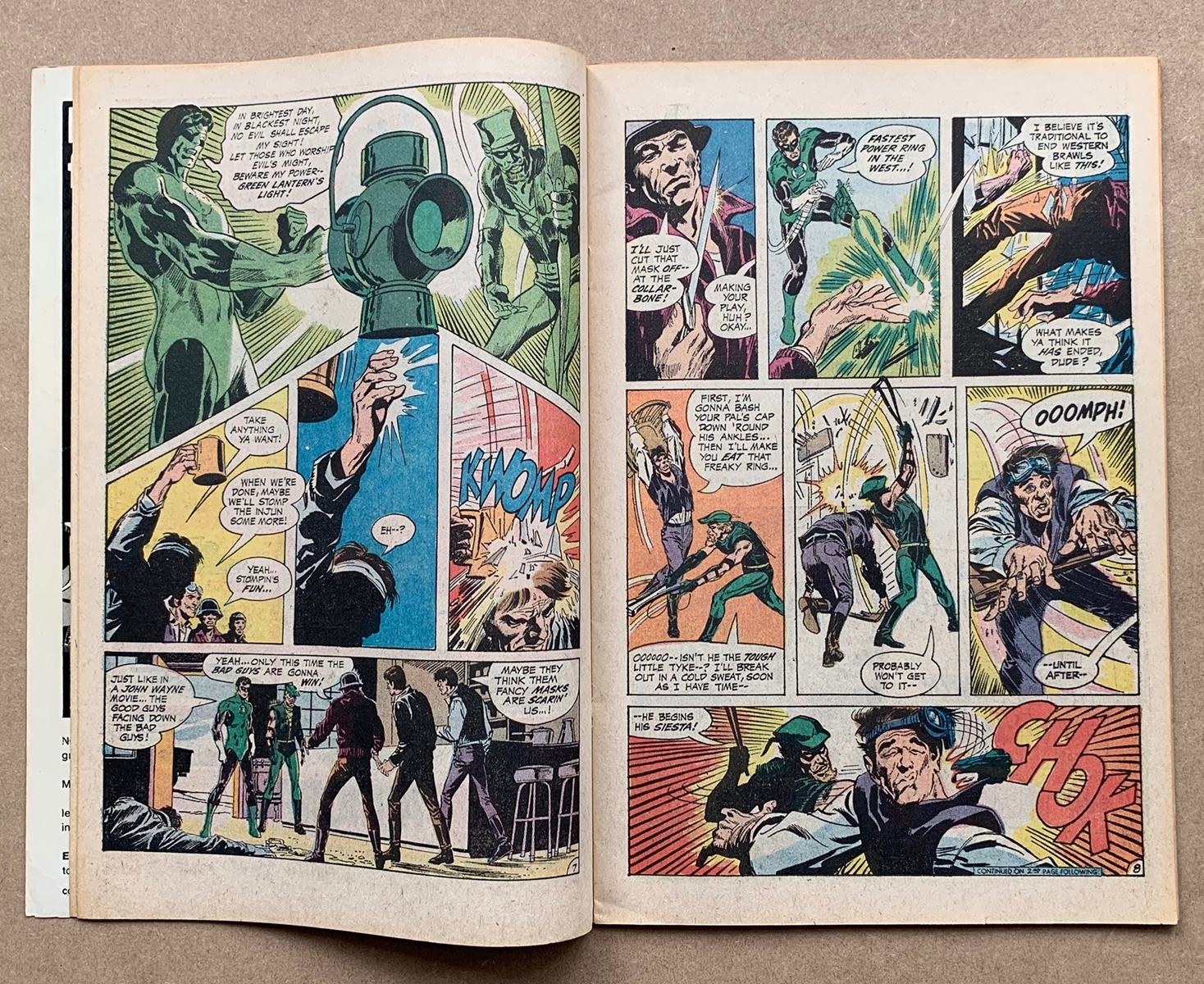 Lot 2118 - GREEN LANTERN #78 (1970 - DC) VFN (Cents Copy/Pence Stamp) - Black Canary appearances begin. Neal