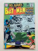 BATMAN #203 - (1968 - DC) FN/VFN (Cents Copy/Pence Stamp) - Giant-Size issue featuring reprinted