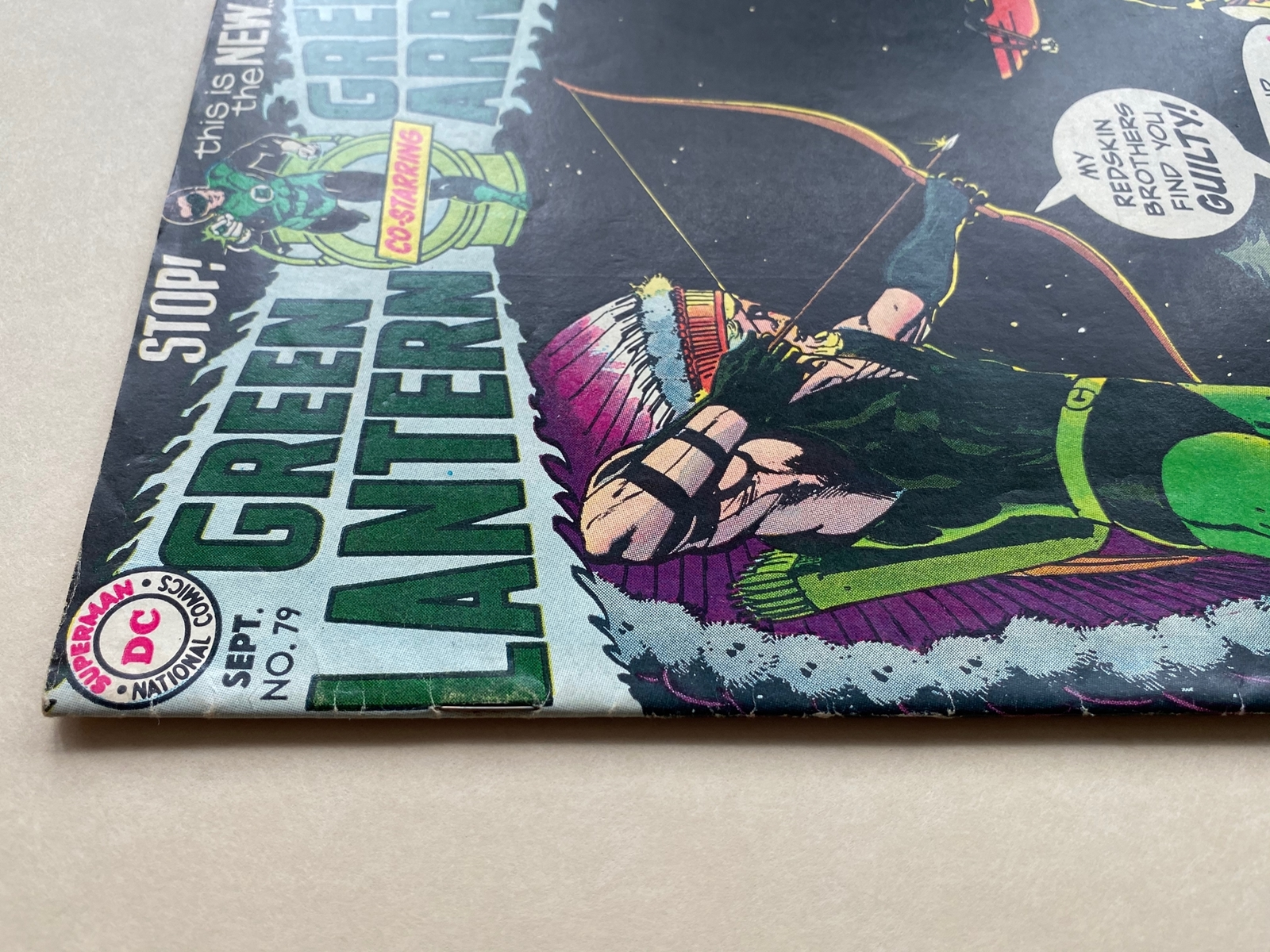 Lot 2119 - GREEN LANTERN #79 (1970 - DC) VFN (Cents Copy/Pence Stamp) - Black Canary appearance - Neal Adams