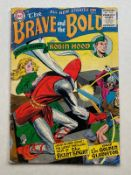 BRAVE & THE BOLD #6 - (1956 - DC) GD (Cents Copy) - Robin Hood, the Silent Knight and the Golden