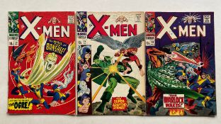 X-MEN #28, 29, 30 (3 in Lot) - (1967 - MARVEL - Pence Copy - VG/FN - Run includes first appearance