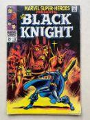 MARVEL SUPER-HEROES: BLACK KNIGHT #17 - (1968 - MARVEL - Cents Copy / Pence Stamp - GD/VG) -