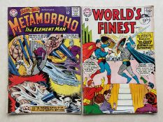 WORLD'S FINEST, BRAVE & THE BOLD (2 in Lot) - (1964 - DC - Cents Copy/Pence Stamp - GD/VG - Run