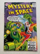 MYSTERY IN SPACE #53 (ADAM STRANGE) - (1959 - DC - Cents Copy - GD/VG) - First issue for Adam