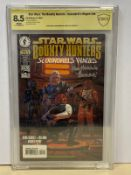 "STAR WARS: THE BOUNTY HUNTERS ""SCOUNDRELS WAGES"" (1999 - DARK HORSE) Graded CBCS 8.5 (Cents Copy)"