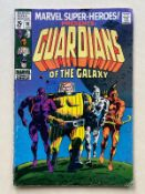 MARVEL SUPER-HEROES: GUARDIANS OF THE GALAXY #18 - (1969 - MARVEL - Cents Copy / Pence Stamp - GDVG)