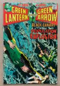GREEN LANTERN #81 (1970 - DC) VFN (Cents Copy/Pence Stamp) - Black Canary guest-stars. Neal Adams