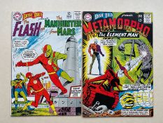 BRAVE & BOLD #56, 58 - FLASH, MANHUNTER FROM MARS, METAMORPHO (2 in Lot) - (1964 - DC) FN/VFN (Cents
